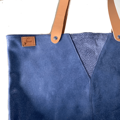 Cabas modèle OSTREA bleu