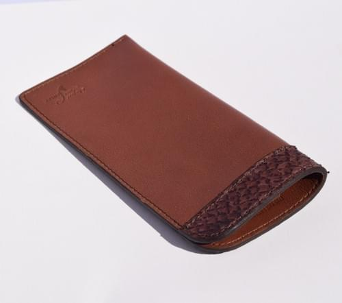 Bôme etui lunettes chocolat