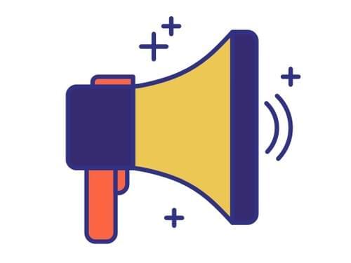1 push notification / announcement on the event platform