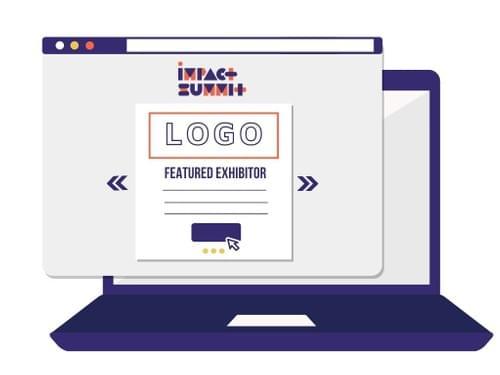 Featured exhibitor on Impact Summit website