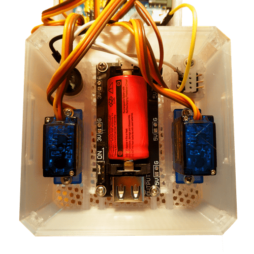 battery charger + power booster with switch