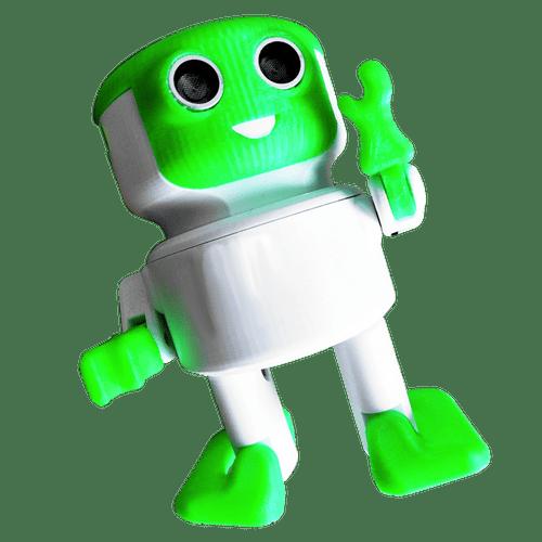 Robot Lee Otto inventor