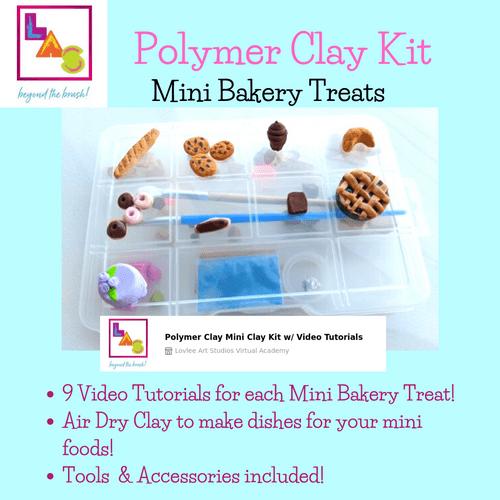 Polymer Clay Art Kit