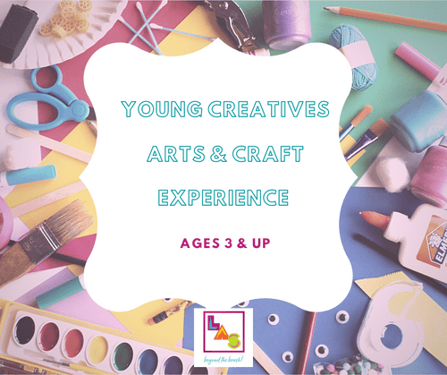 Young Creatives:  Art Kit + 40 min Virtual Private Session