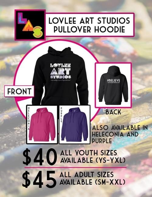 ADULT Limited Edition #BELIEVE Pullover Hoodie