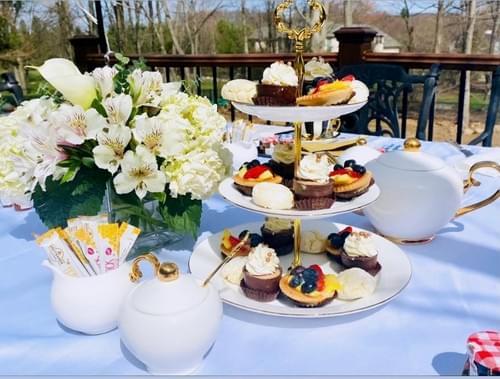 Mother Daughter Garden Tea Party Experience
