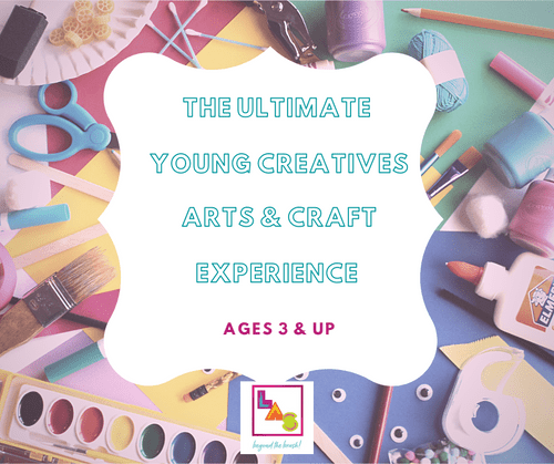 The Ultimate Young Creatives: Art Kit + 2  Private Virtual Art Sessions