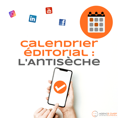 Calendrier Editorial : l'Antisèche