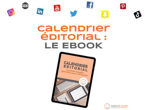 eBook : Calendrier Editorial, le guide complet