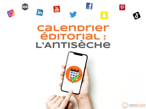 Calendrier Editorial : l'Antisèche