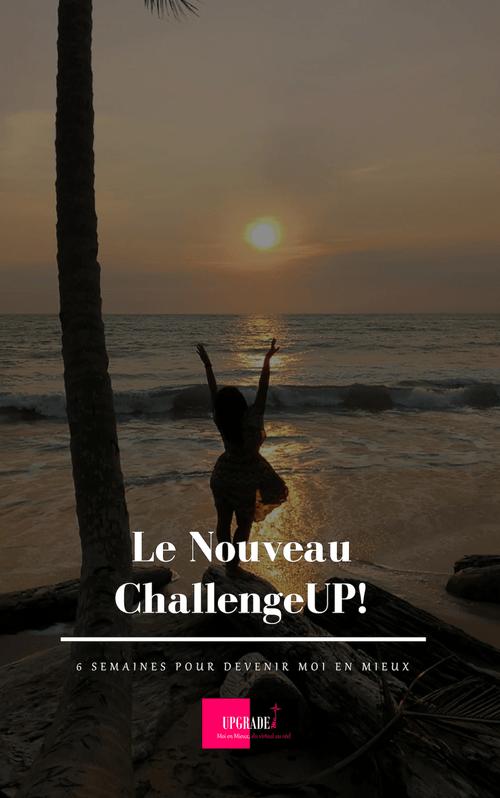 Le Nouveau #ChallengeUP!