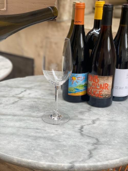 """LIVRAISON France """"blanc/rouge"""" 6 bouteilles"""