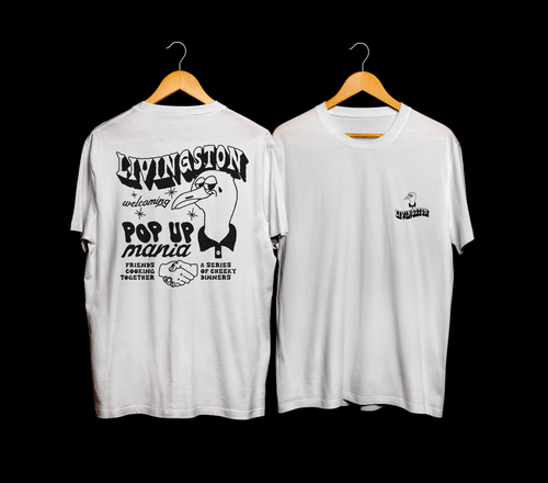 Précommande ton Tee shirt Pop-up Mania Black & White