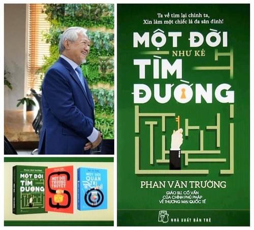 Bộ ba cuốn sách của tác giả Phan Văn Trường