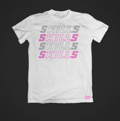 SKILLS KILL TEE (LIGHT/PINK)