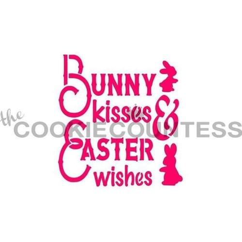 COOKIE COUNTESS - BUNNY KISSES EASTER WISHES0