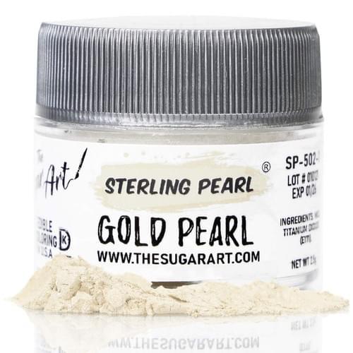 THE SUGAR ART - GOLD PEARL
