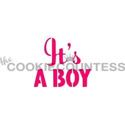 COOKIE COUNTESS - IT'S A BOY