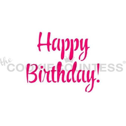 COOKIE COUNTESS - HAPPY BIRTHDAY