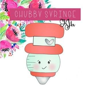 JH COOKIE CO CHUBBY SYRINGE