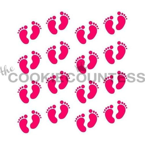 COOKIE COUNTESS - BABY FOOTPRINT