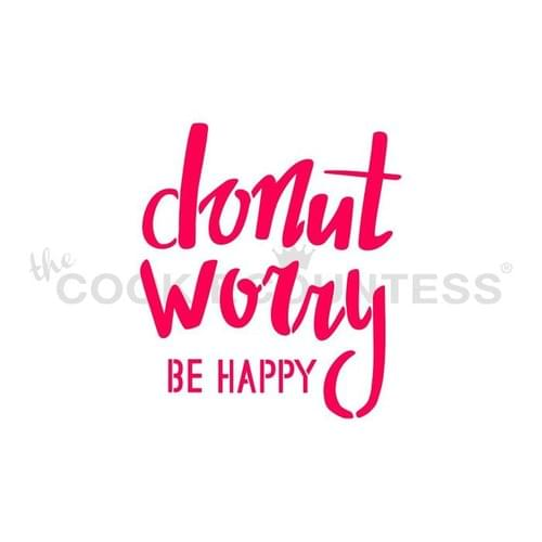 COOKIE COUNTESS - DONUT WORRY BE HAPPY
