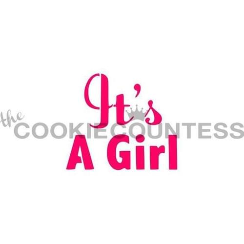 COOKIE COUNTESS - IT'S A GIRL