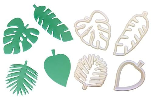 Tropical Leaf Cutter Set