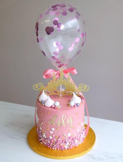 Mini CAKE BALLOONS (2pk)