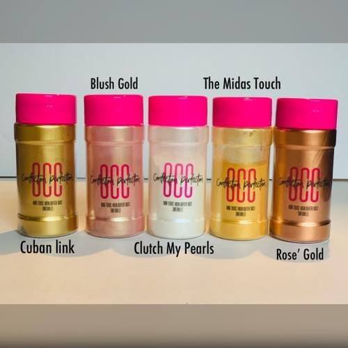 GCC Cuban Link Gold Dust