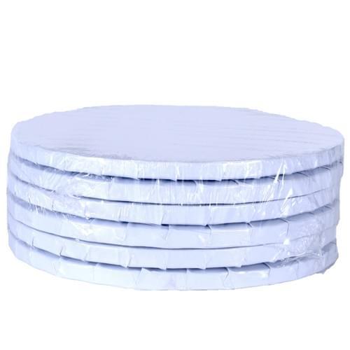 "White Cake Drum 10"""