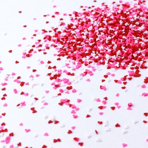 Mini Heart Confetti - Sprinkle Pop