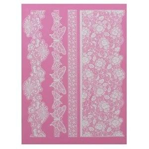 CLAIRE BOWMAN LACE MAT - MADAME BUTTERFLY