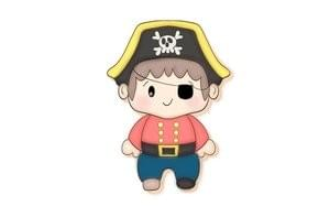 JH COOKIE CO - PIRATE