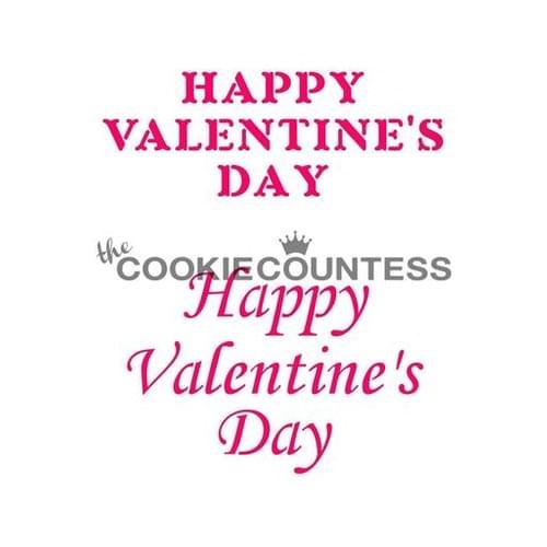 COOKIE COUNTESS - HAPPY VALENTINE'S DAY