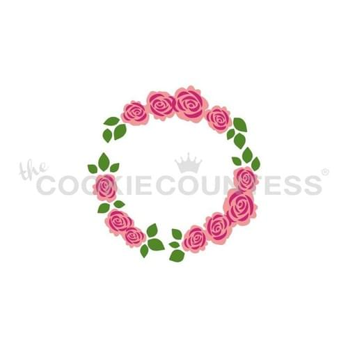 COOKIE COUNTESS - FLORAL WREATH