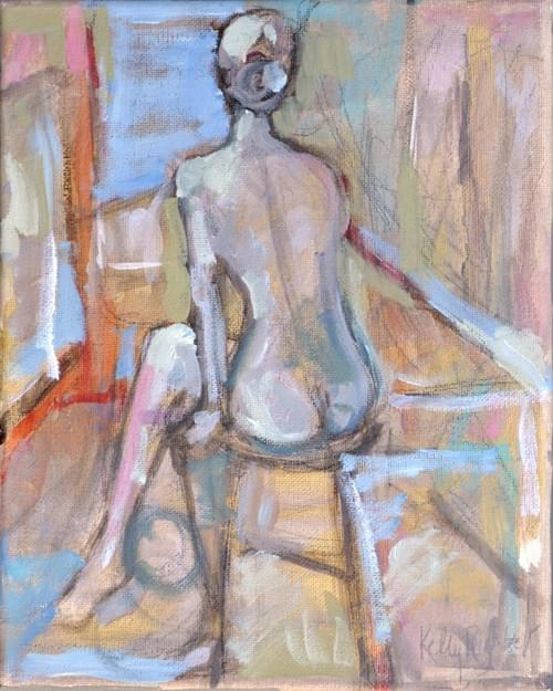 Nude in Repose