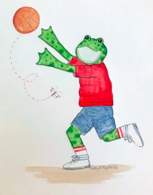 basketball frog
