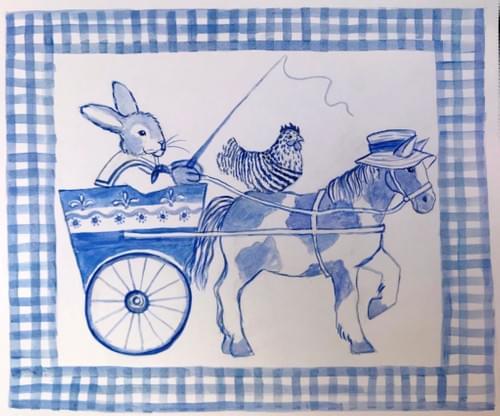 bunny on board