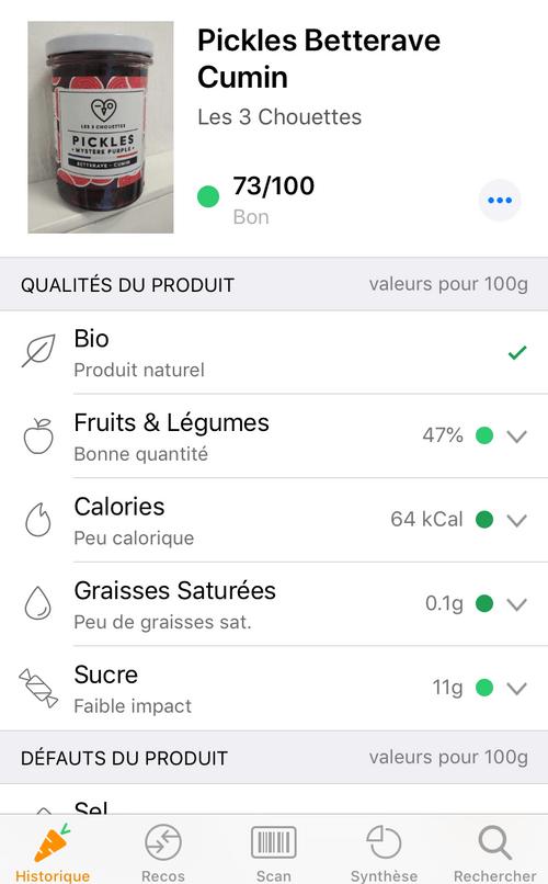 PICKLES MYSTÈRE PURPLE - Betterave cumin (400g)