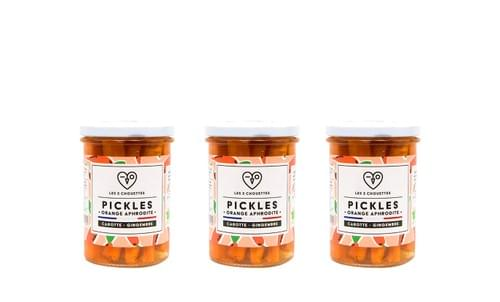OFFRE TABLÉE DE 6 / PICKLES ORANGE APHRODITE X 3
