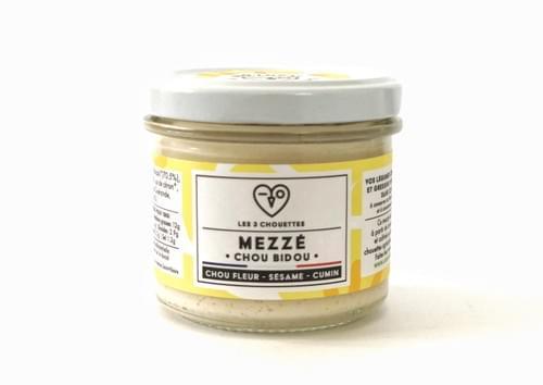 NOUVEAU ! MEZZÉ CHOU BIDOU - Chou fleur Sésame Citron Cumin (100 g)