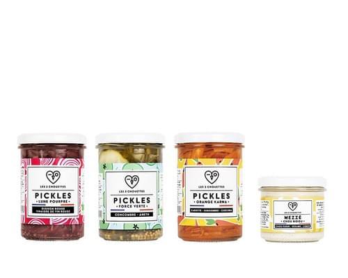 COFFRET PAUSE SANDWICH - 4 pickles bio  (4x210g)