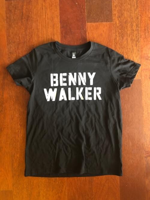 BENNY WALKER Stencil Womens T-Shirt