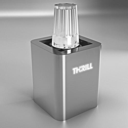Thrill Vortex F1-PRO Tabletop Glass Chiller and Sanitizer