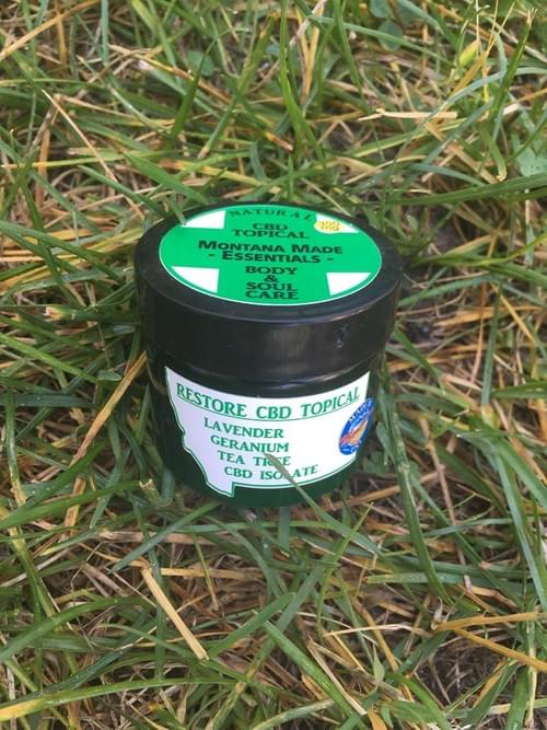 RESTORE CBD 300mg Body Butter 2 oz