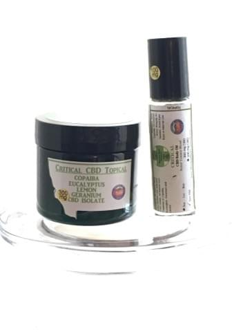Critical CBD 300 mg Topical Relief & Tension Blend