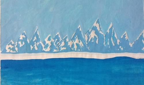 Blue Alaskan Sea