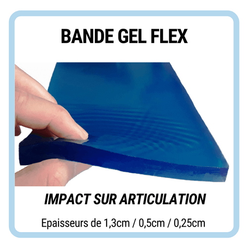 Zéro Impact Bande Gel Flex