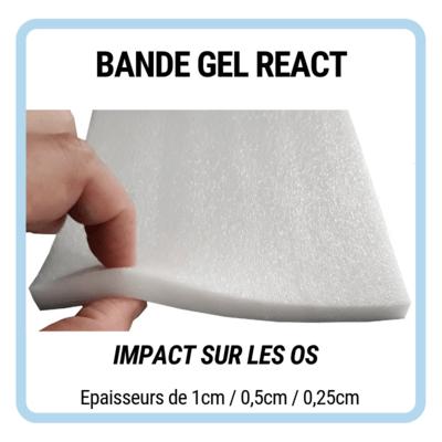 Zéro Impact Bande Gel React
